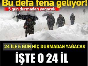 Kar Yine Geliyor!