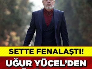 DİZİ SETİNDE FENALAŞTI!