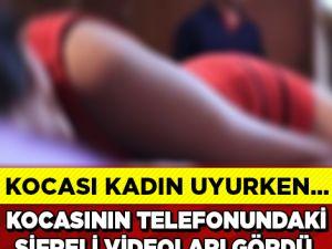 10 Yıllık Kocadan İnanılmaz Skandal, Genç Kadına Uykusunda...