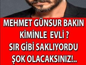 Mehmet Günsur'un Eşi Bakın Kim Çıktı?