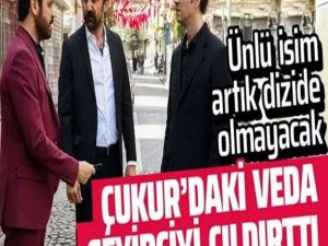 Show TV dizisi Çukur'dan ayrıldı veda paylaşımı ortalığı fena karış