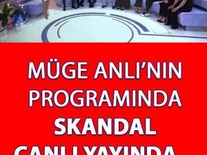 Müge Anlı'nın Programında Sk andal Canlı Yayında