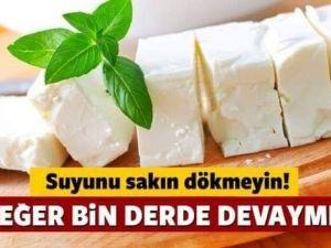 Peynir Suyunu Dökmeyin
