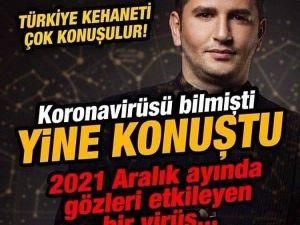Astrolog Dinçer Güner'in 2021 ke-hanetleri