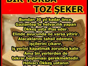 BİR TORBA TOZ ŞEKER