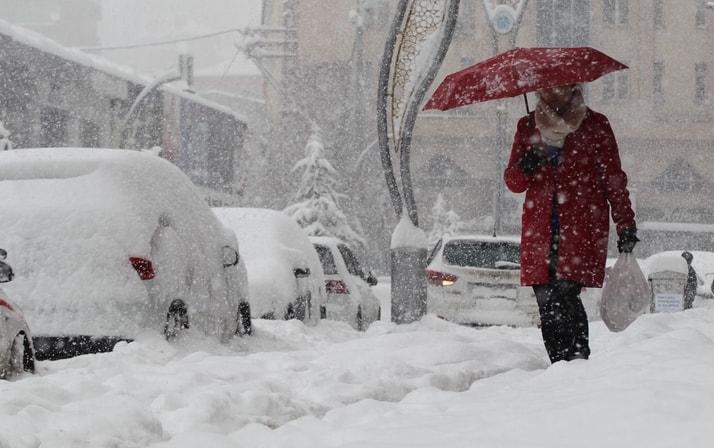 21 Aralık yeni hafta hava durumu: Meteoroloji'den yeni haftada kar  galerisi resim 3