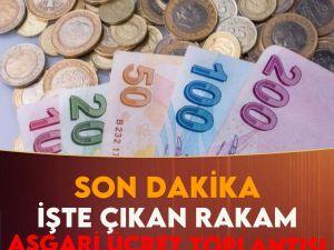 Asgari Ücret toplantısı sonuçlandı Asgari ücret zammı ne kadar oldu 3. t