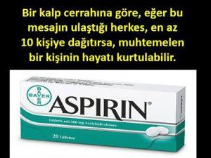 Yatağınızın Kenarına Mutlaka Aspirin Koyun