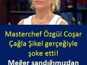 Masterchef'te son 4'e kalma başarısını gösteren Özgül Coşar me