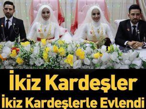 kardeşlerle evlendi..