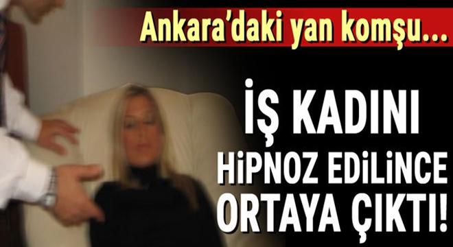 İş Kadını Hipnoz Edilince Ortaya Çıktı! Ankara'daki Yan Komşu