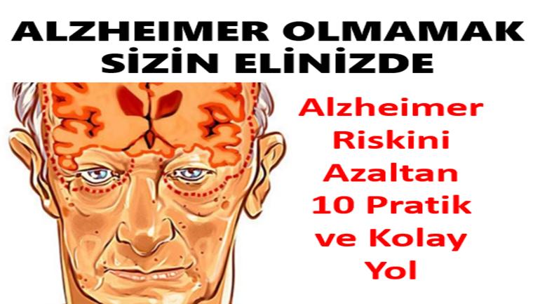 Alzheimer Riskini Azaltan 10 Pratik ve Kolay Yol