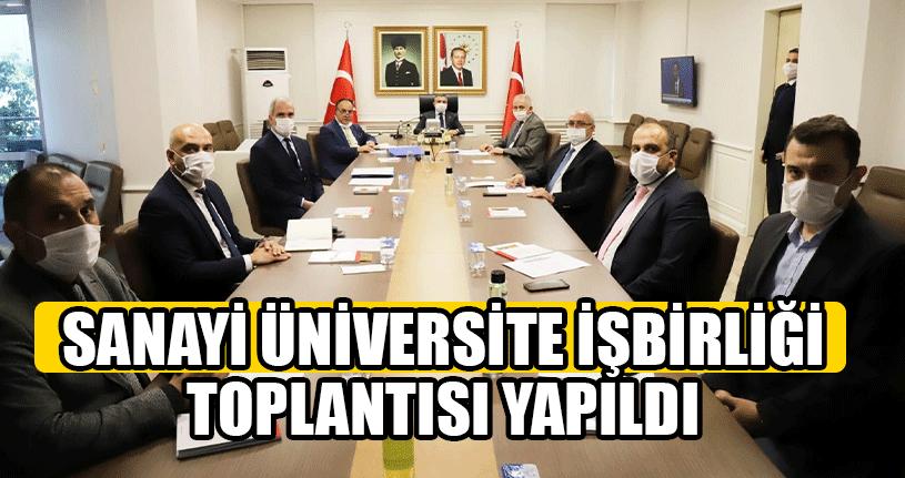 Sanayi Üniversite İşbirliği Toplantısı Yapıldı