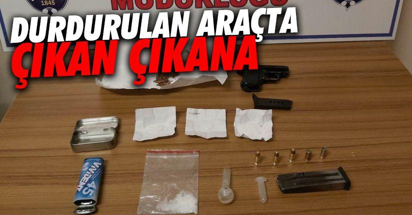 Uyuşturucu bulunduran şahıs mahkemece tutuklandı