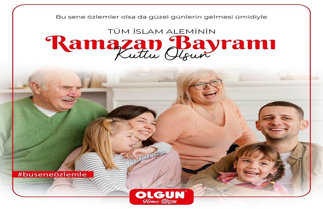 Olgun Kırmızı Beyaz Ramazan Bayramını kutladı