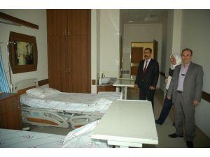 Hastanede 100 Yataklı Ek Bina Hizmete Girdi
