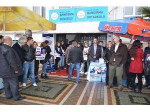 Bandırma CHP'de Seçim Heyecanı