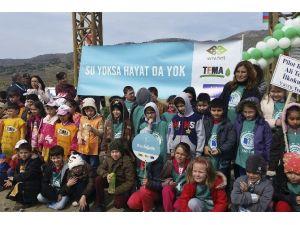 Eko-okullar Ve TEMA'dan Doğaya 3 Bin Fidan
