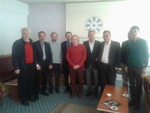 TYB Erzurum Şubesi'nde Konuk Hikmet Eren'di