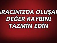 TRAFİK KAZASI YAPANLAR DİKKAT!