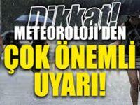 METEOROLOJİ'DEN ÇOK SAYIDA İLİMİZ İÇİN SEL U-YARISI