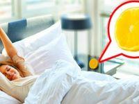 Yatak odanıza limon dilimleri koyun. Sonuca çok şaşıracaksınız.