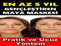 Cildi En Az 5 Yaş Gençleştiren Maya Maskesi