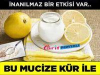 Yoğurt Limon Kürü Göbek Eritiyor