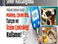 Şeker Hastalığından Tarçın, Mahlep, Üzüm Çekirdeği, Çörek Otu İle Kurtulun!