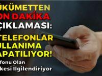 KLONLANMIŞ TELEFONLAR KULLANIMA KAPATILACAK