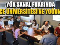 Düzce Üniversitesi'ne Yoğun İlgi