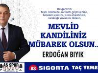 Erdoğan Bıyık Kandili Kutladı